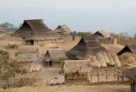 Akha Village - Phongsali province (2007)
