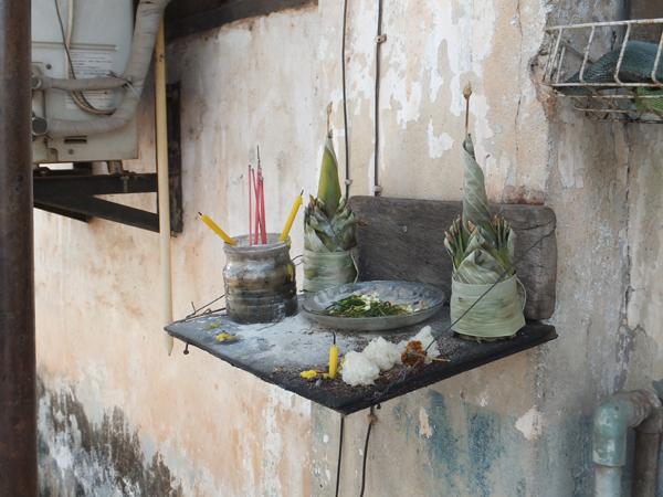 Spirit Altar - Vientiane (November 2013)
