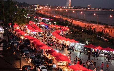Vientiane night mkt