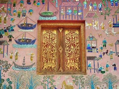 wat siang thong mosaic